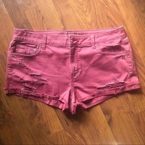 American Eagle Tomgirl Shortie size 16